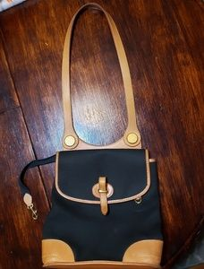 Vintage canvas and leather Dooney &Bourke used